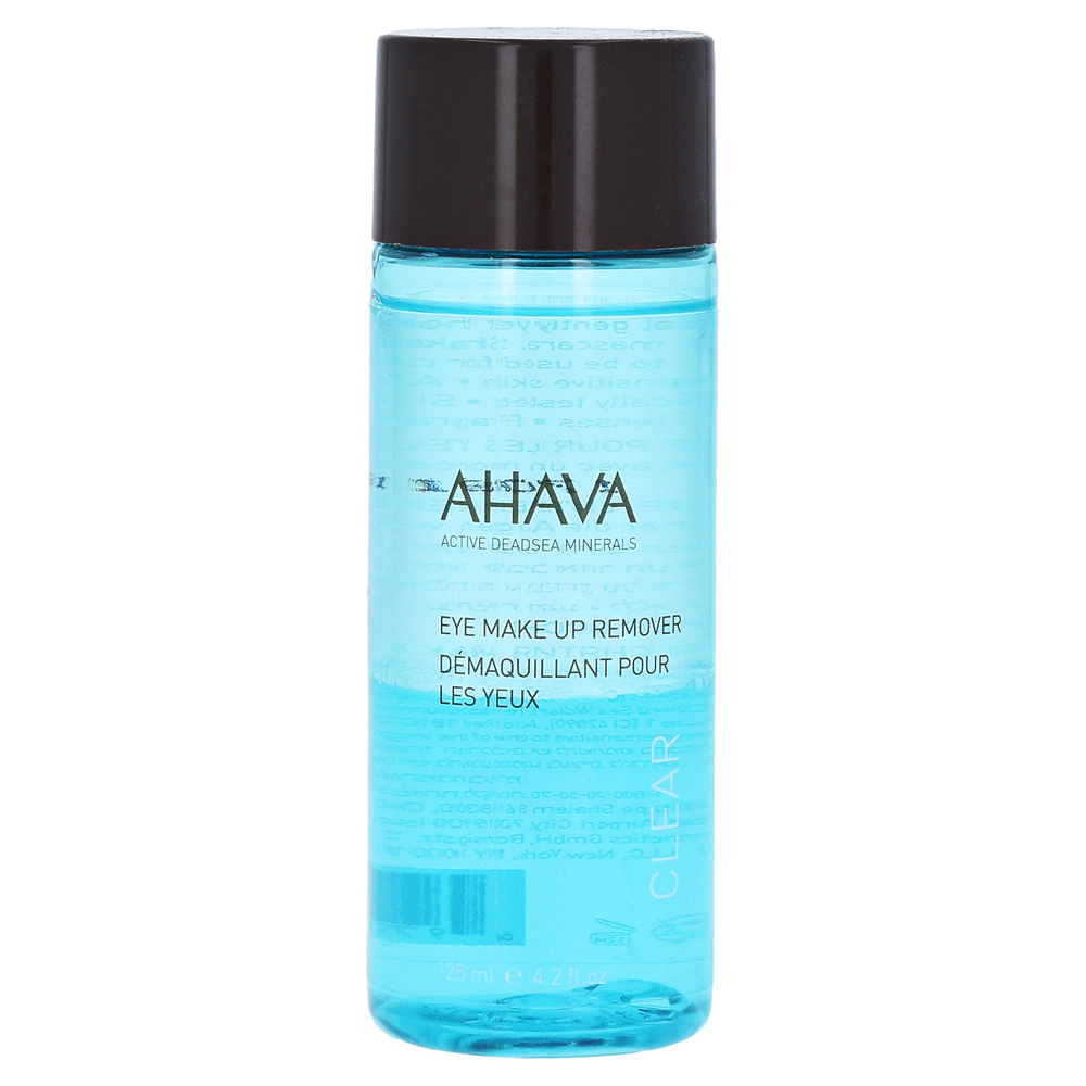 ahava eye make up remover fl ssig 125 milliliter online. Black Bedroom Furniture Sets. Home Design Ideas