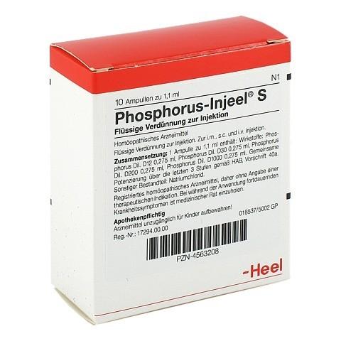 PHOSPHORUS INJEEL S Ampullen 10 Stück N1