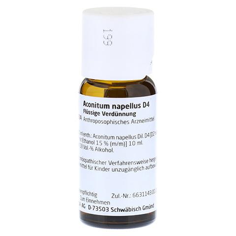 ACONITUM NAPELLUS D 4 Dilution 50 Milliliter N1