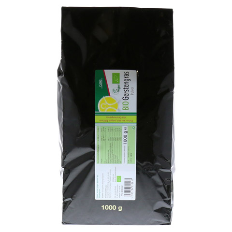 GERSTENGRAS Bio Pulver 1000 Gramm