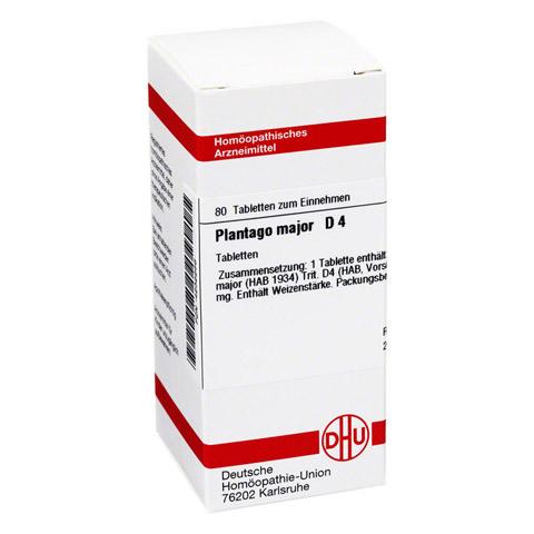 PLANTAGO MAJOR D 4 Tabletten 80 Stück N1