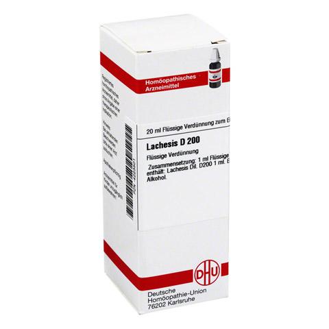 LACHESIS D 200 Dilution 20 Milliliter N1