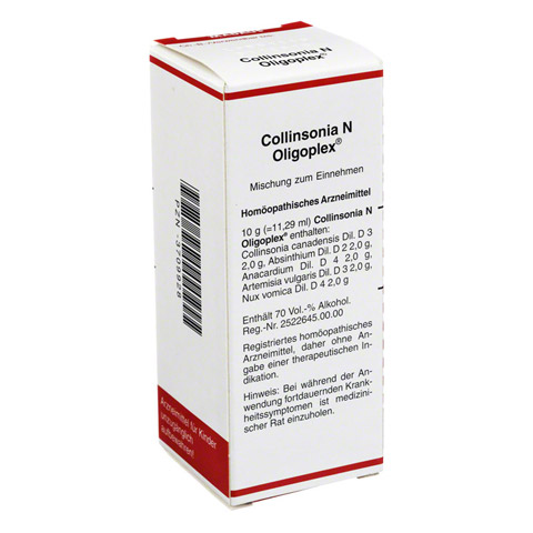 COLLINSONIA N Oligoplex Liquidum 50 Milliliter N1