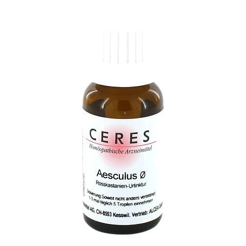CERES Aesculus Urtinktur 20 Milliliter N1