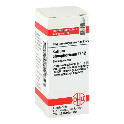 KALIUM PHOSPHORICUM D 12 Globuli 10 Gramm N1