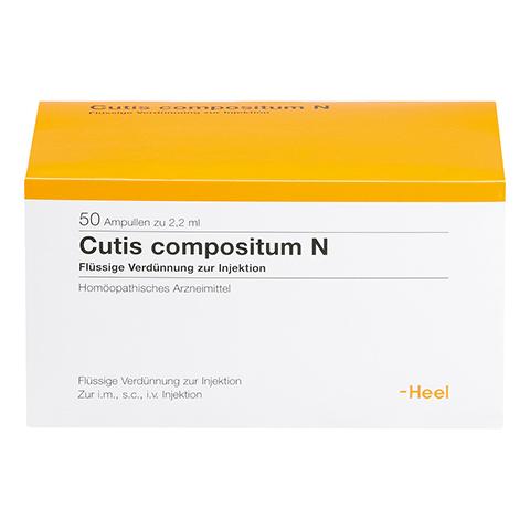 CUTIS compositum N Ampullen 50 Stück N2