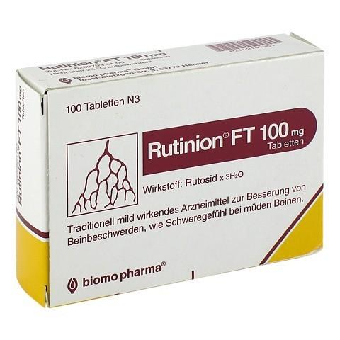 Rutinion FT 100mg 100 Stück N3