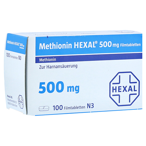METHIONIN HEXAL 500 mg Filmtabletten 100 St�ck N3