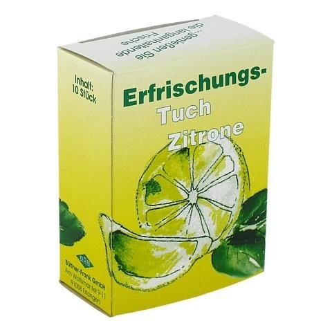 ERFRISCHUNGSTUCH Citro 10 St�ck