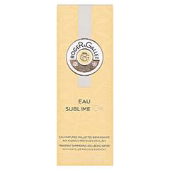 R&G Bois d'Orange Eau Sublime Or Gold Eau Fraiche 100 Milliliter - Vorderseite