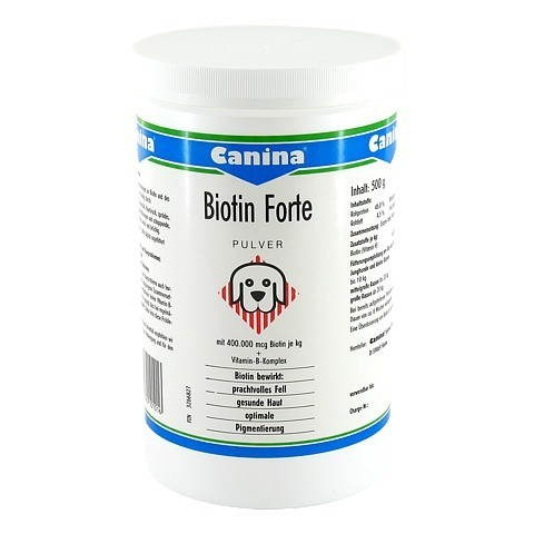 BIOTIN FORTE Pulver vet. 500 Gramm