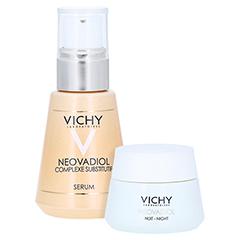 VICHY NEOVADIOL Serum/R + gratis Vichy Neovadiol Ausgleichender Wirkstoffkomplex Nacht 15 ml 30 Milliliter