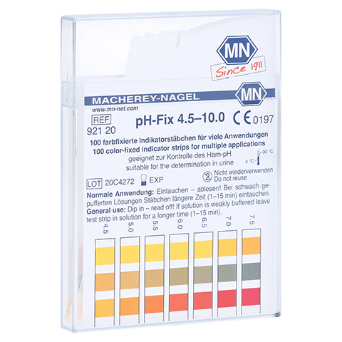 PH-FIX Indikatorst�bchen pH 4,5-10 100 St�ck
