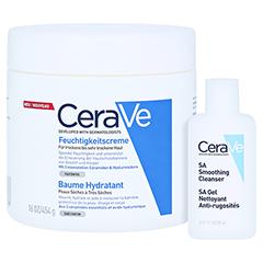 Cerave Feuchtigkeitscreme + gratis CERAVE SA Reinigung Lotion 20 ml 454 Gramm