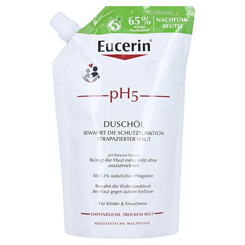 EUCERIN pH5 Duschöl empfindliche Haut Nachfüll 400 Milliliter