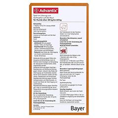ADVANTIX Spot-on Lsg.z.Auftr.a.d.H.f.Hund 40-60 kg 4x6.0 Milliliter - Rückseite