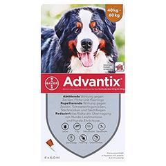 ADVANTIX Spot-on Lsg.z.Auftr.a.d.H.f.Hund 40-60 kg 4x6.0 Milliliter - Vorderseite