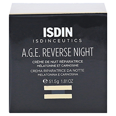 ISDIN ISDINCEUTICS A.G.E.Reverse night Creme 51.5 Gramm - Vorderseite