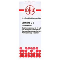 DAMIANA D 6 Globuli 10 Gramm N1 - Vorderseite