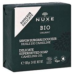 NUXE Bio rückfettende Seife für zarte Haut 100 Gramm