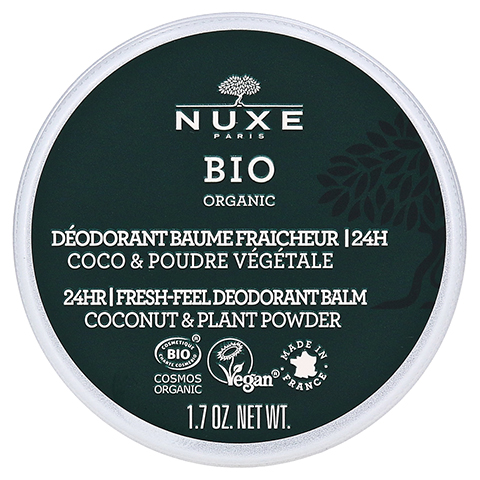 NUXE Bio Deo-Balsam mit Frischegefühl 50 Gramm