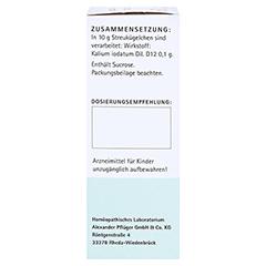 BIOCHEMIE Pflüger 15 Kalium jodatum D 12 Globuli 15 Gramm N1 - Linke Seite