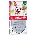 ADVANTIX Spot-on Lsg.z.Auftr.a.d.H.f.Hund bis 4 kg 4 Stück