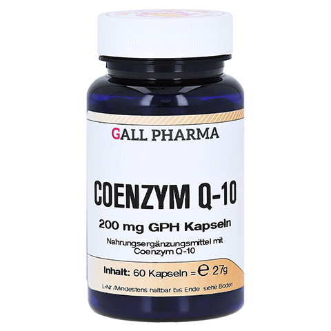 COENZYM Q10 200 mg GPH Kapseln 60 Stück