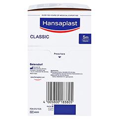 Hansaplast Classic Pflaster 6 cmx5 m 1 Stück - Linke Seite