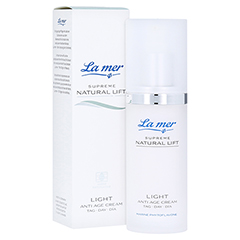LA MER SUPREME Natural Lift Light Anti Age Cream Tag 50 Milliliter