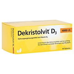 DEKRISTOLVIT D3 4.000 I.E. Tabletten 90 Stück