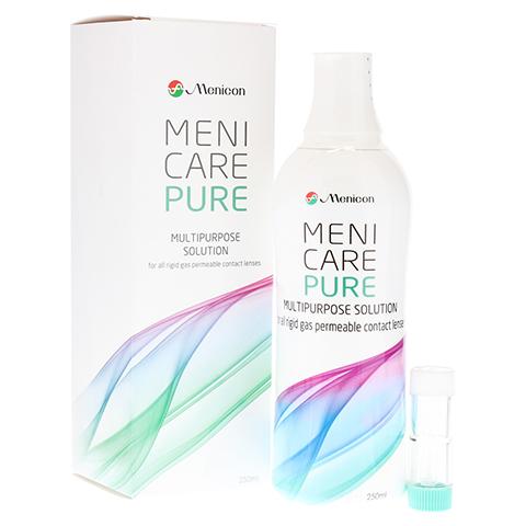MENI CARE Pure Lösung f.harte Kontaktlinsen 250 Milliliter