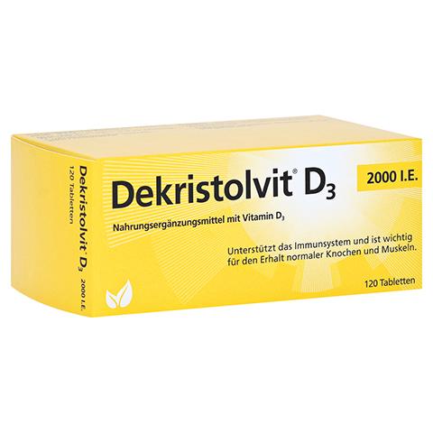 DEKRISTOLVIT D3 2.000 I.E. Tabletten 120 Stück