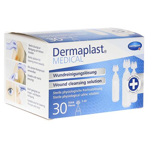 DERMAPLAST MEDICAL Wundreinigungslösung NaCl 5 ml 30 Stück