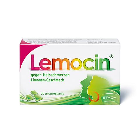 Lemocin gegen Halsschmerzen 20 Stück N1