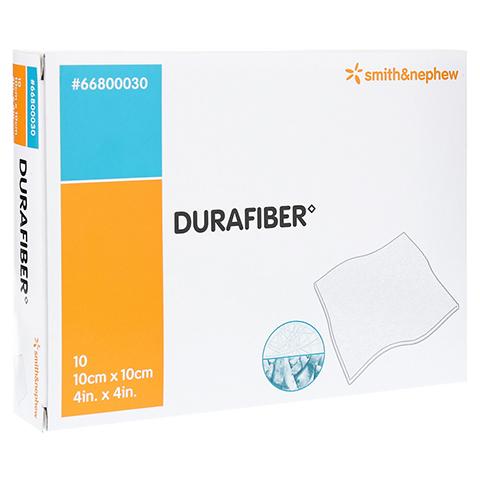 DURAFIBER 10x10 cm Verband 10 Stück