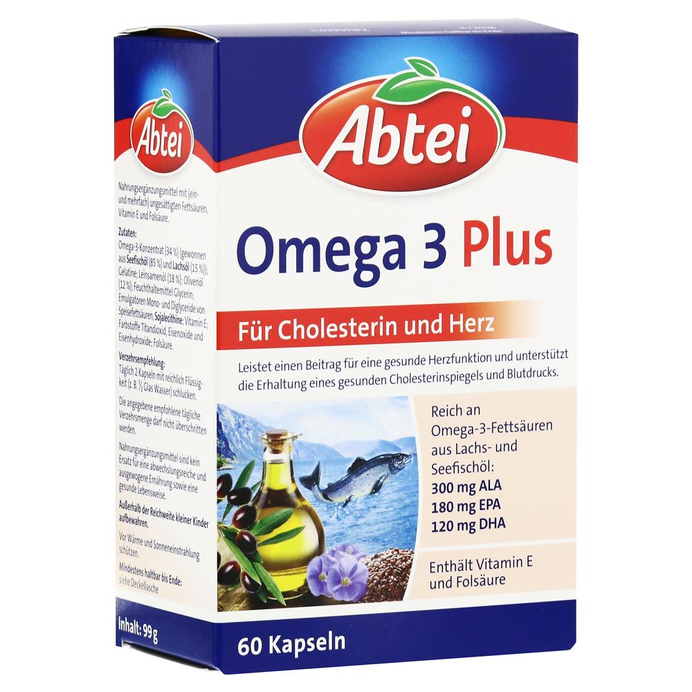 erfahrungen zu abtei omega 3 plus mit omega 6 9 fetts uren 60 st ck medpex versandapotheke. Black Bedroom Furniture Sets. Home Design Ideas