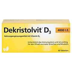 DEKRISTOLVIT D3 4.000 I.E. Tabletten 60 Stück - Vorderseite