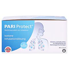 PARI ProtECT Inhalationslösung mit Ectoin Ampullen 60x2.5 Milliliter - Vorderseite