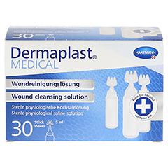 DERMAPLAST MEDICAL Wundreinigungslösung NaCl 5 ml 30 Stück - Vorderseite