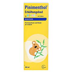 Pinimenthol Erkältungsbad für Kinder ab 2 Jahren Eucalyptus 190 Milliliter - Vorderseite