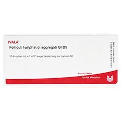 FOLLICULI LYMPH. AGGR. GL D 5 Ampullen 10x1 Milliliter N1 - Vorderseite