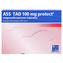 ASS TAD 100mg protect 100 Stück N3 - Vorderseite