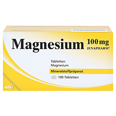 MAGNESIUM 100 mg Jenapharm Tabletten 100 Stück N3 - Vorderseite