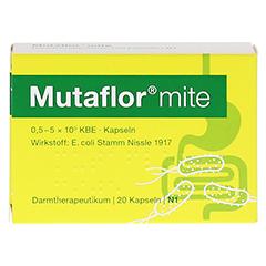 MUTAFLOR mite magensaftresistente Kapseln 20 Stück N1 - Vorderseite