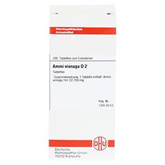 AMMI VISNAGA D 2 Tabletten 200 Stück N2 - Vorderseite