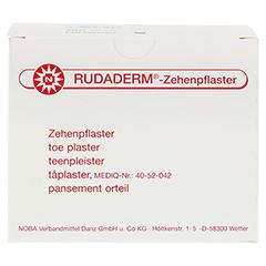 RUDADERM Zehenpflaster 100 Stück - Vorderseite