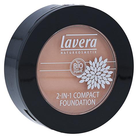 LAVERA 2in1 compact Foundation 03 honey 10 Gramm