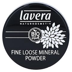 LAVERA Fine loose Mineral Powder transparent 8 Gramm - Vorderseite