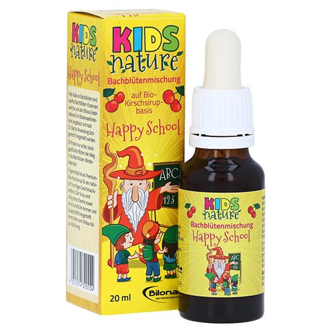 KIDS NATURE Bachblüten alk.frei Happy School 20 Milliliter